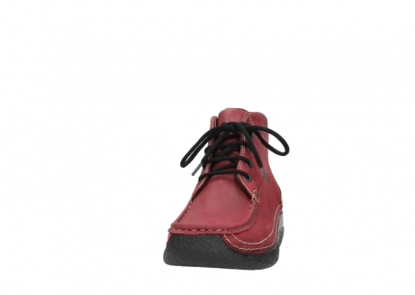 wolky bottines a lacets 06242 roll shoot 11530 cuir bordeaux_20