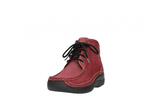 wolky bottines a lacets 06242 roll shoot 11530 cuir bordeaux_21