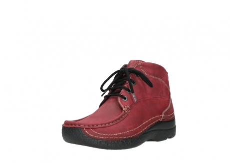 wolky bottines a lacets 06242 roll shoot 11530 cuir bordeaux_22