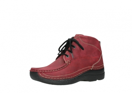 wolky bottines a lacets 06242 roll shoot 11530 cuir bordeaux_23