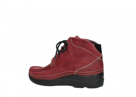 wolky bottines a lacets 06242 roll shoot 11530 cuir bordeaux_3