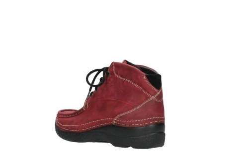 wolky bottines a lacets 06242 roll shoot 11530 cuir bordeaux_4
