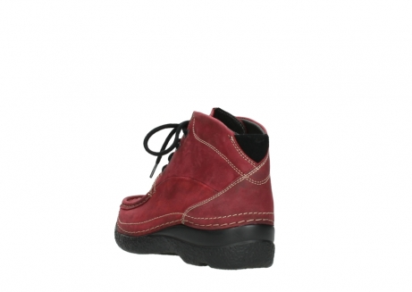 wolky bottines a lacets 06242 roll shoot 11530 cuir bordeaux_5