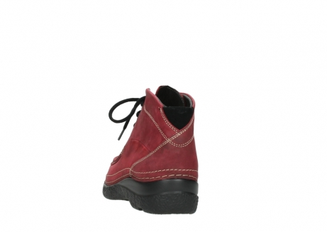 wolky bottines a lacets 06242 roll shoot 11530 cuir bordeaux_6