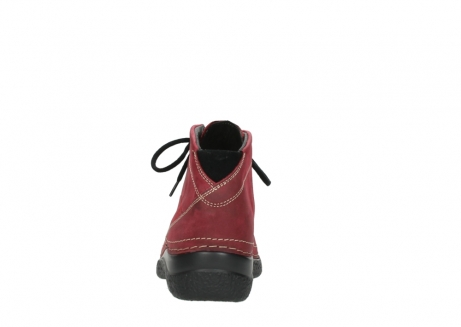 wolky bottines a lacets 06242 roll shoot 11530 cuir bordeaux_7