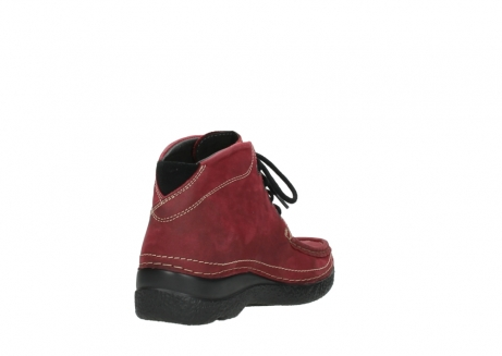 wolky bottines a lacets 06242 roll shoot 11530 cuir bordeaux_9