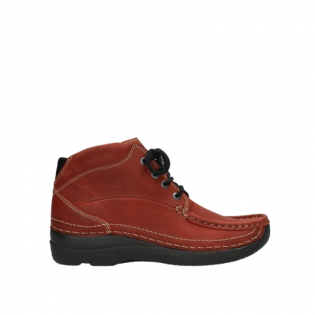 wolky veterboots 06242 roll shoot 11542 winter rood nubuck