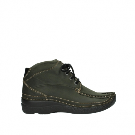 wolky veterboots 06242 roll shoot 11732 forestgroen geolied nubuck