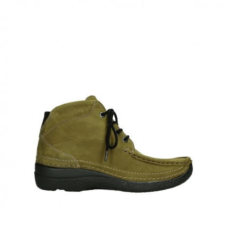 wolky lace up boots 06242 roll shoot 11940 mustard nubuckleather