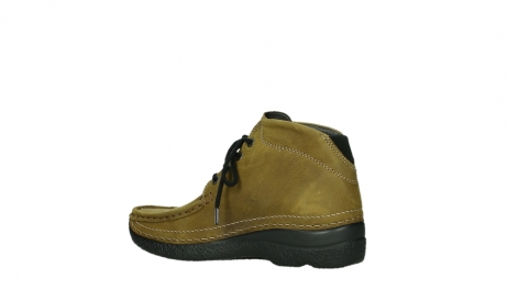 wolky lace up boots 06242 roll shoot 11940 mustard nubuckleather_11
