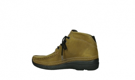 wolky lace up boots 06242 roll shoot 11940 mustard nubuckleather_12