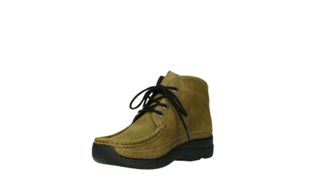 wolky lace up boots 06242 roll shoot 11940 mustard nubuckleather_16