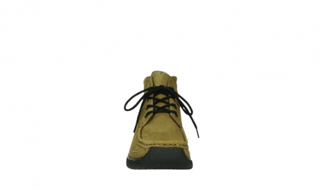 wolky lace up boots 06242 roll shoot 11940 mustard nubuckleather_19