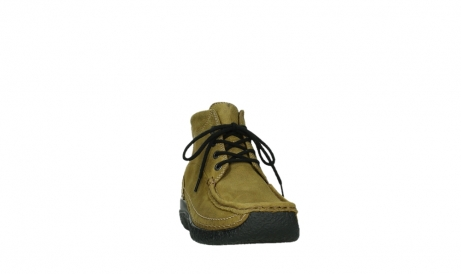wolky lace up boots 06242 roll shoot 11940 mustard nubuckleather_20