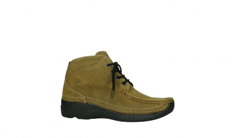 wolky lace up boots 06242 roll shoot 11940 mustard nubuckleather_24