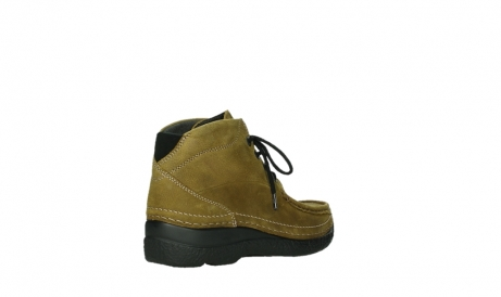wolky lace up boots 06242 roll shoot 11940 mustard nubuckleather_4