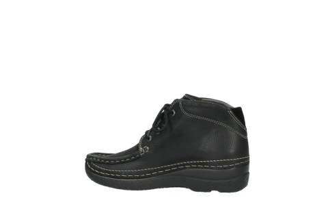 wolky lace up boots 06242 roll shoot 90000 black nubuck_14