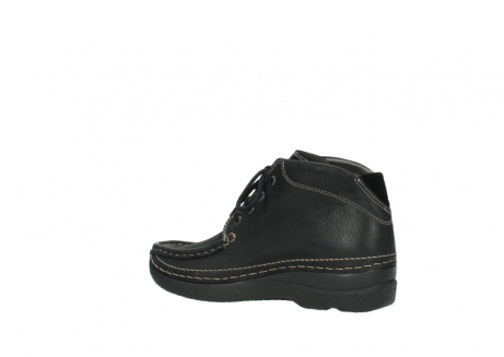 wolky lace up boots 06242 roll shoot 90000 black nubuck_15