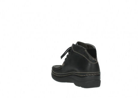 wolky veterboots 06242 roll shoot 90000 zwart nubuck_17