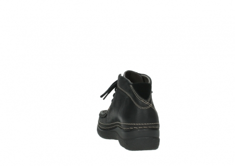 wolky lace up boots 06242 roll shoot 90000 black nubuck_18