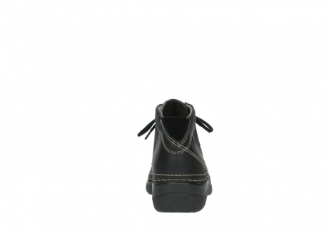 wolky lace up boots 06242 roll shoot 90000 black nubuck_19