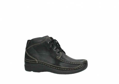 wolky lace up boots 06242 roll shoot 90000 black nubuck_2