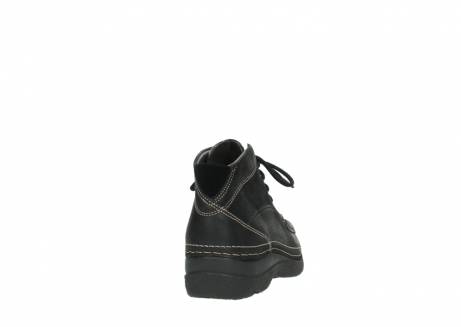 wolky lace up boots 06242 roll shoot 90000 black nubuck_20