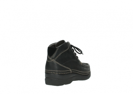 wolky lace up boots 06242 roll shoot 90000 black nubuck_21
