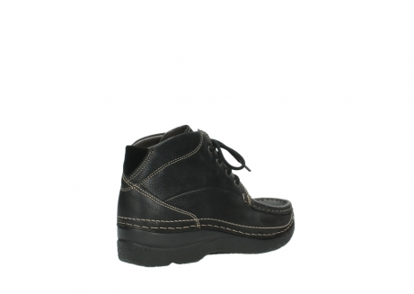 wolky lace up boots 06242 roll shoot 90000 black nubuck_22