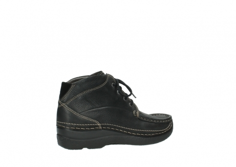 wolky lace up boots 06242 roll shoot 90000 black nubuck_23