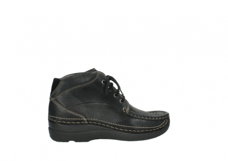 wolky lace up boots 06242 roll shoot 90000 black nubuck_24
