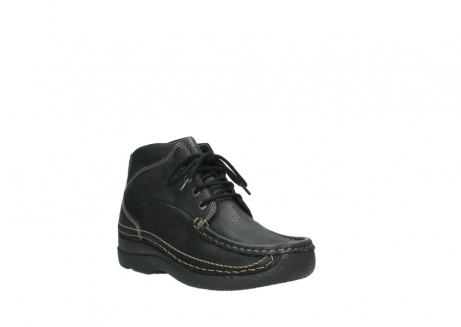 wolky lace up boots 06242 roll shoot 90000 black nubuck_4