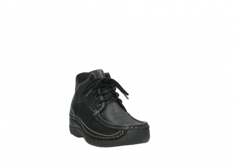 wolky lace up boots 06242 roll shoot 90000 black nubuck_5