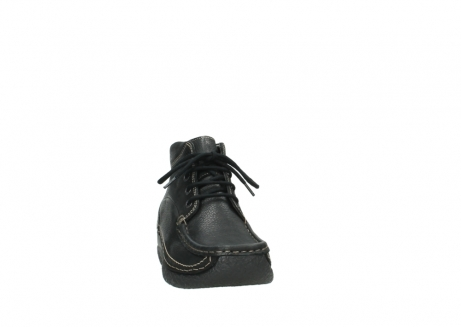 wolky lace up boots 06242 roll shoot 90000 black nubuck_6
