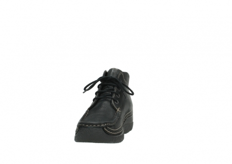 wolky lace up boots 06242 roll shoot 90000 black nubuck_8