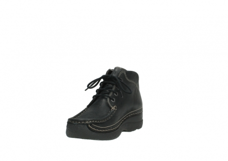 wolky lace up boots 06242 roll shoot 90000 black nubuck_9