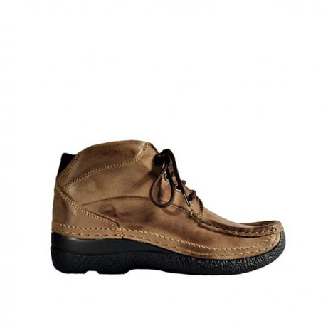 wolky lace up boots 06242 roll shoot 90150 taupe nubuck