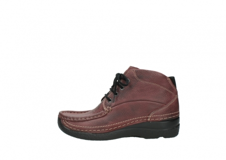 wolky lace up boots 06242 roll shoot 90510 bordo nubuck_1