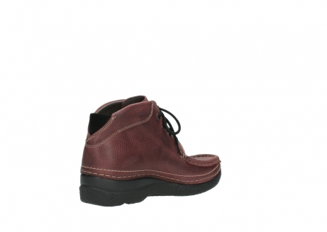 wolky lace up boots 06242 roll shoot 90510 bordo nubuck_10