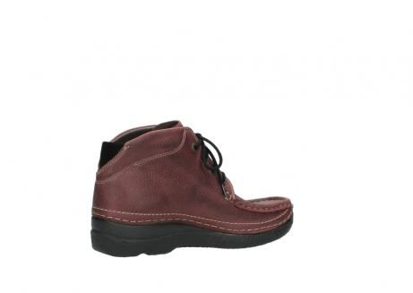 wolky lace up boots 06242 roll shoot 90510 bordo nubuck_11