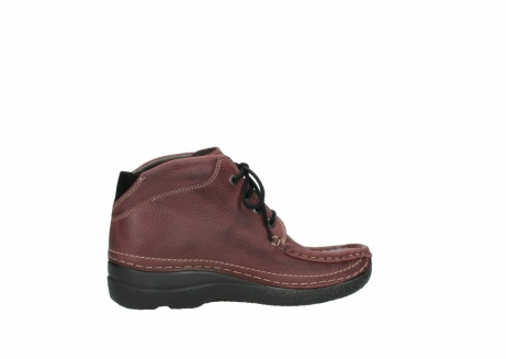 wolky lace up boots 06242 roll shoot 90510 bordo nubuck_12