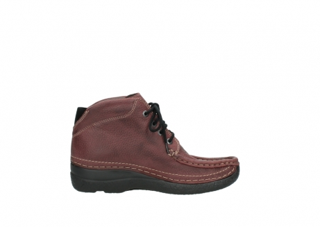 wolky lace up boots 06242 roll shoot 90510 bordo nubuck_13
