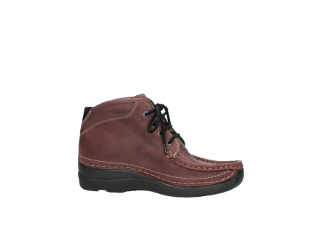 wolky lace up boots 06242 roll shoot 90510 bordo nubuck_14