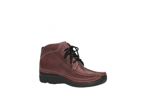 wolky lace up boots 06242 roll shoot 90510 bordo nubuck_15