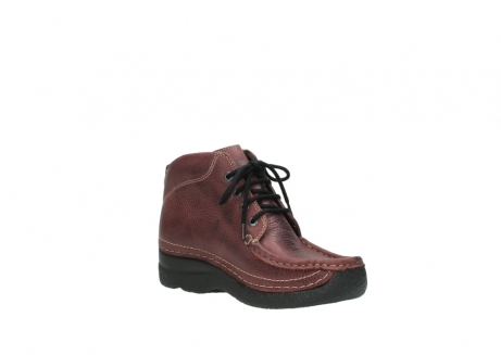wolky lace up boots 06242 roll shoot 90510 bordo nubuck_16