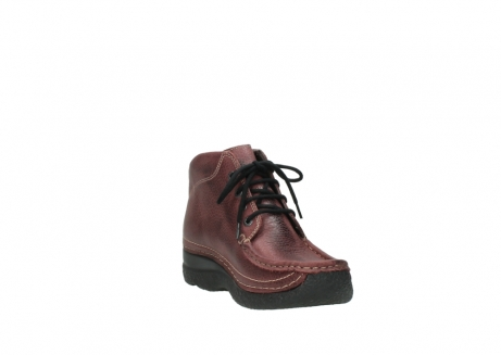 wolky lace up boots 06242 roll shoot 90510 bordo nubuck_17