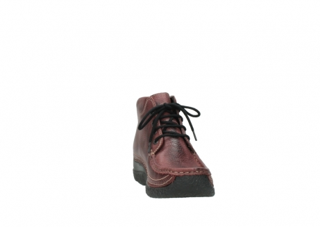 wolky lace up boots 06242 roll shoot 90510 bordo nubuck_18