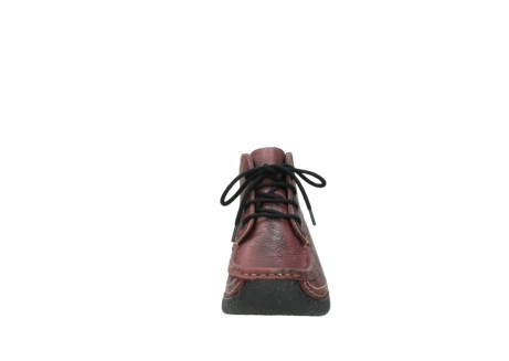 wolky lace up boots 06242 roll shoot 90510 bordo nubuck_19