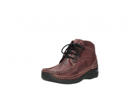 wolky lace up boots 06242 roll shoot 90510 bordo nubuck_22