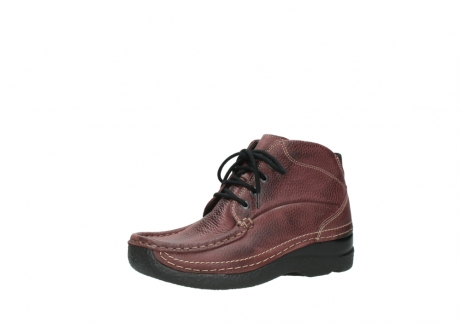 wolky lace up boots 06242 roll shoot 90510 bordo nubuck_23
